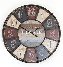 Horloge murale Lodge shabby Montre 84641 loft diamètre 60 cm DESIGN VINTAGE