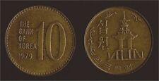 COREA SUD KOREA 10 WON 1979