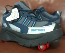 Street Flyer Retractable Wheel Roller Skate Shoes Youth Size 5 boys girls size 7