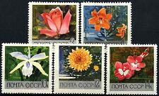Russie 1969 SG#3686-90 jardins botaniques neuf sans charnière Set #D47786