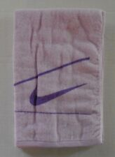 Nike Graphic Large Towel 100% Cotton 35cm x 120cm Light Purple/Bright Violet New