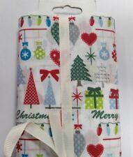Festive Fabric mini bolt, 1.5 meters ,poly cotton mix, free P&P