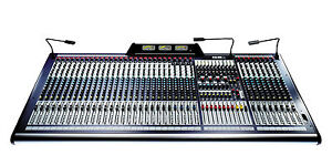 Soundcraft GB8 40 Channel Mixer in Road Ready Case - Ex-Hire Equipment