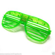 Lunettes vert pour déguisements et costumes