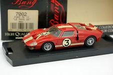 Bang 1/43 - Ford GT40 Le Mans 1966 N°3