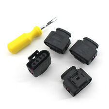 4x  Ignition Coil Connector Repair Kit Harness Plug Wiring for Audi VW Car CA00