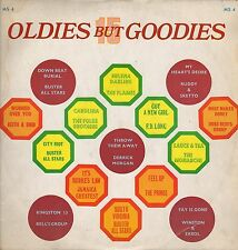 """ OLDIES BUT GOODIES. "" various artists.  F A B   UK orig  L.P."