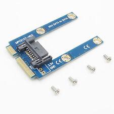 Convert Card Adapter mSATA Mini Extender to 7 Pin SATA HDD