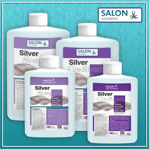 Silver Purple Toning  Shampoo Conditioner (No Yellow) Grey BLONDE 100/250ML *UK*
