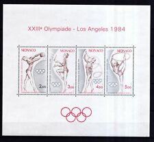 Monaco 1984 postfrisch MiNr. Block 25   rhythmischen Sportgymnastik