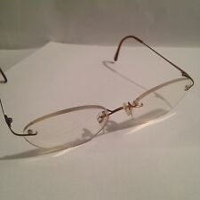 LUXOTTICA Rx  eyeglasses FRAMES/chassis 50-17-135 ITALY RIMLESS