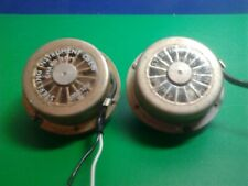 Pair of Small Geared Electric Motors by Sterling Instruments 4 Sec A/C 200/250 v