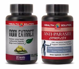 Immune system supplement - NONI – ANTI PARASITE COMBO - papaya extract