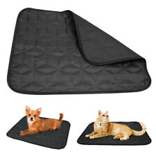 Pet Dog Cat Feeding Sleeping Bed Mat Oxford Cushion Blanket Waterproof Kennel