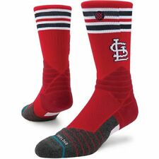 Stance KIDS St. Louis Cardinals Baseball Socks YL 2-5.5   - FREE USA SHIPPING!