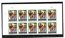 US  4434  Kwanzaa 44c - Top Plate Block of 10 -  MNH  - 2009 - P1111