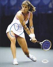 CHRIS EVERT Signed 8x10 Glossy Photo with JSA Sticker