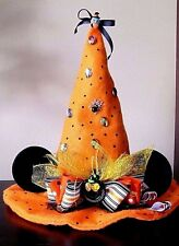 Girls Disney Minnie Mouse Ears Witch's Hat Halloween Costume Dress Up