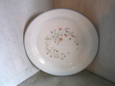 "Pyrex England EMILY Salad Plate 7 1/2"" Pink Flowers James A Jobling"