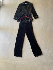 Zara blazer and trousers grey velour S size
