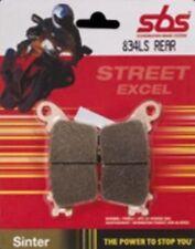 Pastillas de freno sbs Kawasaki ZX-10R 1000 ninja ( 2011- ) traseras