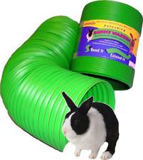 Green SnuggleSafe All Weather Flexible Bending Fun Bunny Warren Tunnel 76 X 20cm