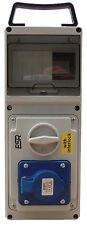 ESR con interruttore RCD Presa Di Interblocco IP44 32A 2P + T 3 Pin 200V 250V