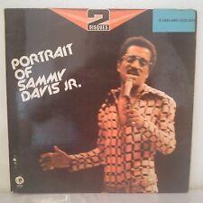 "Sammy Davis Jr.–Portrait Of Sammy Davis Jr. (2 x Vinyl 12"" LP Album Gatefold)"