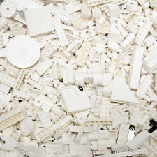 LEGO 5lb WHITE~2000 Pieces-SANITIZED-Bulk Pound Lot Brick Part Random Assorted H