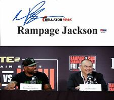 Quinton Rampage Jackson Signed Bellator MMA Dynamite Fight Used Sign PSA/DNA UFC