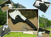 Camping Tool-Survival Fishing Axe, Fire Axe, Field Hand Tool-Kitchen Axe-F02