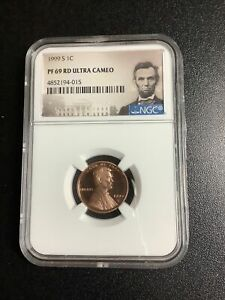 1999 S LINCOLN CENT 1C NGC PF 69 RD ULTRA CAMEO As Pictured