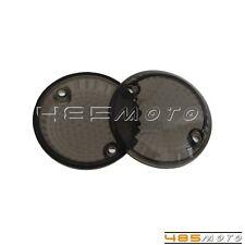 2X Smoke Lens Cover Turn Signal Light For Suzuki Intruder 1500 /VL1500 1998-2003