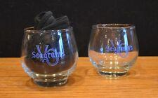 "Seagram's VO 3 1/4"" Cocktail Glasses (Set of 2) B1"