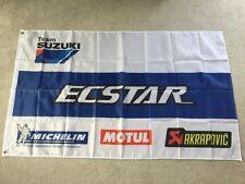 Suzuki ecstar Moto gp garage workshop flag banner