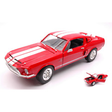 SHELBY GT 500 KR 1968 RED 1:18