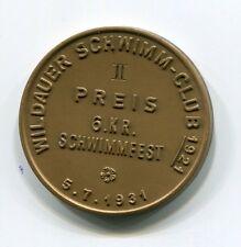 DSV-medaillie di 1931 dal nuota-Club Wildau II. prezzo 6.k.r. gara di nuoto