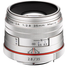 Pentax Ricoh 35mm Macro f/2.8 Limited - Silver (HD) Lens CA0866
