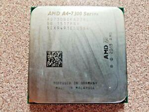 AMD A4-7300 SERIES 3.8GHz CPU DESKTOP PROCESSOR (AD730BOKA23HL)
