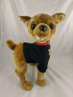 "Gemmy Animated Dog Chihuahua Plush 13"" Naughty"