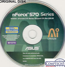 ASUS GENUINE VINTAGE ORIGINAL DISK FOR M2N-SLI DELUXE Vista Motherb Disk M1070
