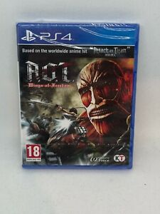 Attack on Titan Wings of Freedom AOT - PS4 Playstation 4 NEW SEALED - FREE DEL!