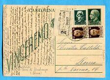 c.15 VINCEREMO (C97) + IMP.c.15 + c.30 x 2 ann.PIEVE DI SINALUNGA  (274515)