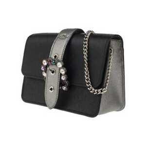 NWT Coach Bowery Jewel Buckle Crossbody Shoulder Bag BLACK Gunmetal F80299 $298