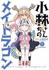 Kobayashi san chi no Maid Dragon 2 Japanese comic Manga anime Thor kawaii sexy