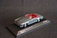 Minichamps Mercedes-Benz 190 SL Cabriolet 1955 1:43 Graphitgrau / Red (JS)