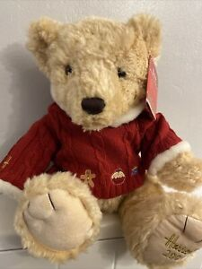 2009 Harrods Christmas Teddy Bear  - Collectable. With tags.