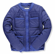 Nylon Puffer Machine Washable Solid Coats & Jackets for Women