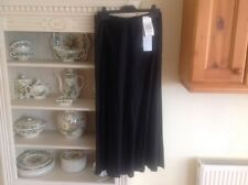 MARKS AND SPENCER AUTOGRAPH STRETCH LINEN LADIES BLACK SKIRT SIZE 8 BNWT