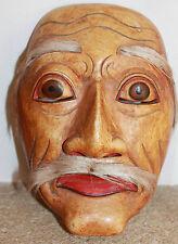 masque de théâtre en bois